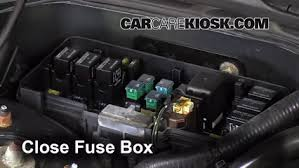 blown fuse check 1999 2003 acura tl 2003 acura tl type s 3 2l v6 6 replace cover secure the cover and test component