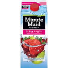 minute maid berry punch carton 59 fl oz