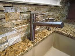 stone kitchen backsplash. Natural Stone Kitchen Backsplash Design For Interior Home