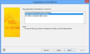 Organization Chart Wizard Excel Microsoft Visio 2013 Using The Organization Chart Wizard