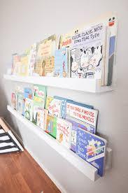 diy wall mounted kid s bookshelves
