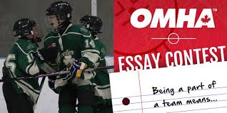 win worth of hockey gear essay contest