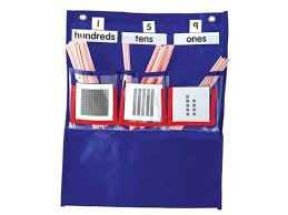 Hundreds Tens Ones Pocket Chart Carson Dellosa Deluxe Counting Caddy Pocket Chart 158026