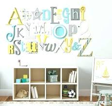 letters for the wall for decorations nursery wooden letters wall decor letters for wall alphabet wall