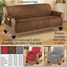 Micro Fleece Quilted Furniture Cover Protector from Collections Etc. & Micro Fleece Quilted Furniture Cover Protector Adamdwight.com