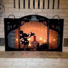 mickey mouse disney fire screen on mickey mouse metal wall art with mickey mouse decorating on a cheapskate princess budget disney s