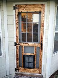 screen door protector from cats retractable pet fabric dog proof latch