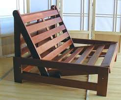 Twin Futon Chair Bed Fold A Frame Size