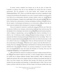 role computer education essay the role of computers in education uk essays
