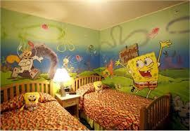 Spongebob Bedroom Decorations Bedroom Wonderful Kids Bedroom Decorating Ideas With Blue Within