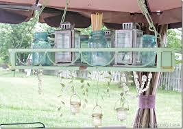 outdoor chandy 3 tea lights