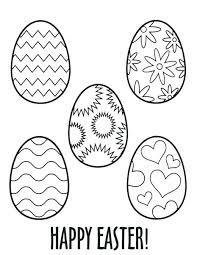 Easter Egg Template Free Seventyseven Info