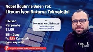 Nobel Ödülü'ne Giden Yol: Lityum İyon Batarya Teknolojisi | Dr. Mehmet  Nurullah Ateş - YouTube