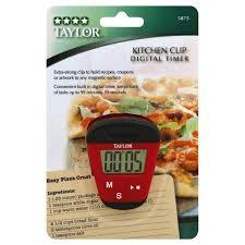 taylor digital timer kitchen clip