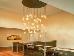 modern chandelier light fixtures for sloped ceilings