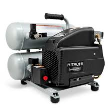 hitachi pancake air compressor. 2-hp 135-psi 4-gal electric twin stack air compressor. hitachi power tools pancake compressor \