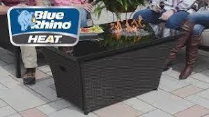 Blue Rhino Heat Rectangular Outdoor Fire Table Features Video Model Gad17300b Youtube