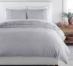 navy wheaton stripe linen cotton blend
