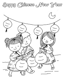 Small Picture chinese new year coloring pages for preschool Coloring Pages Ideas