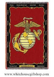 Marine Throw Blanket