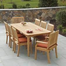 teak patio furniture costco teak
