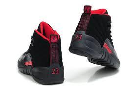 jordan shoes retro 12. air jordan 12 retro shoes men 29 black red, for sale online