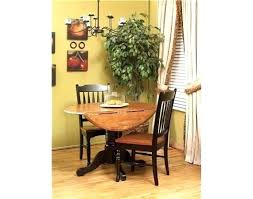 espresso round dining table isles honey and set with canada hon