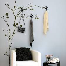 Branch Wall Coat Rack Extraordinary Clothing Hooks Outstanding Tree Wall Hook Treewallhooktree