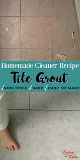 DIY Grout Cleaner Homemade