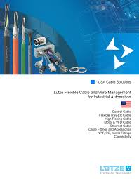 Vfd Cable Ampacity Chart Lutze Flexible Cable And Wire Management For Industrial