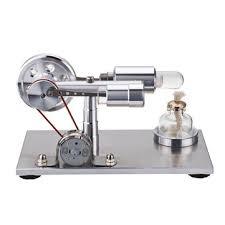 stem hot air <b>stirling engine model</b> generator steam diy physics ...