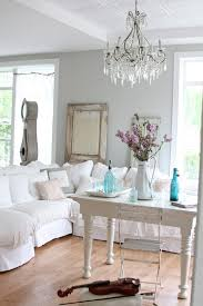 white shabby chic beach decor white shabby. Shabby Chic Wall Decor Living Room Farmhouse With Bistro Chair Bottles Chandelier. Image By: Dreamy Whites White Beach