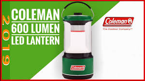 The Best New Car Camping Lantern 2019 The Coleman 600 Lumen Lantern