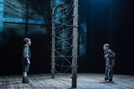 the boy in the striped pyjamas from page to stage marlowetheatre 161 jabez cheeseman as bruno and colby mulgrew as shmuel