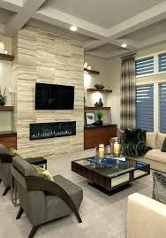 modern fireplace designs with tv above built in electric fireplace with