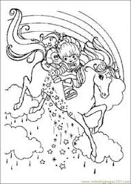 Small Picture Rainbow Brite 999 Coloring Pages coloring pages Pinterest