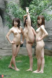 Asian nude model groups