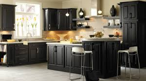 image of dark kitchen cabinets sets