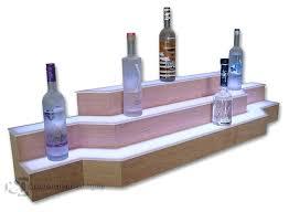 3 tier shelves custom 3 tier cherry bar shelves 3 tier shelf unit