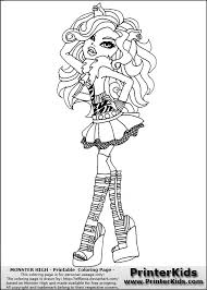 Small Picture Monster High Clawdeen Coloring Pages GetColoringPagescom