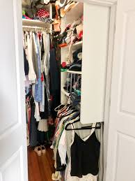 how we maximized space in our small city closet big reveal before after