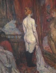 woman before a mirror 1897 henri de toulouse lautrec