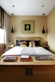 Remarkable Design In Decorating Bed Ideas For Small Rooms : Casual Bedroom  For Small Space Room