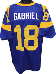 Sports Jersey Unsigned Los Roman Athlon Gabriel Prostyle Rams Angeles Tb Xl Blue