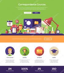 Learning Web Design E Learning Website Header Banner With Webdesign Elements