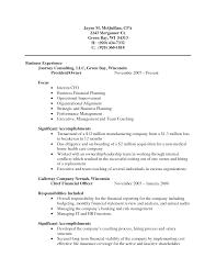 Accountant Public Accountant Resume