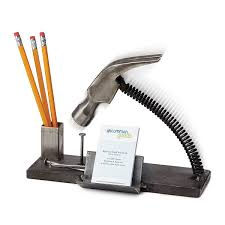 fun office desk accessories. Nailed It Desk Organizer. You\u0027ll Have No Problem Hitting Off With Business Associates Or Making A New Client Smile Fred Conlon\u0027s Quirky Fun Office Accessories C