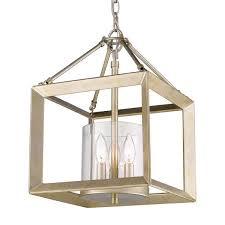 golden lighting smyth 3 light white