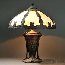 arts and crafts lamps arts and crafts table lamps arts crafts slag glass lamp arts and