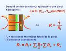 Coefficient d isolation thermique construction